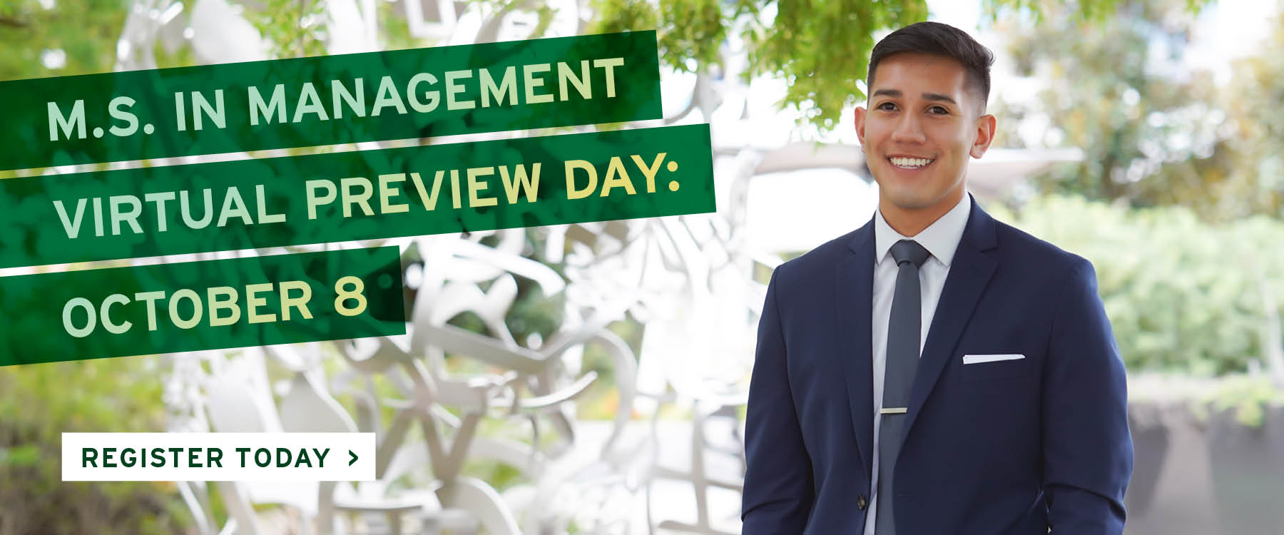 M.S. in Management Virtual Preview Day